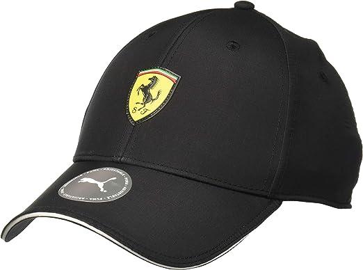 Puma Scuderia Ferrari Fanwear Baseball Cap Puma Black One Size Amazon De Sport Freizeit