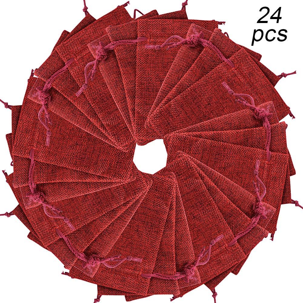 BUONDAC (10 * 14 cm) 24 STK Adventskalender Säckchen ...