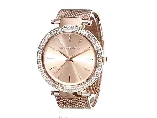 da645cd912cf Amazon.com  Michael Kors Women s MK3369 - Darci Rose Gold Tone  Michael Kors   Watches