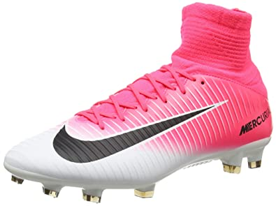 14f414df3594 Nike Men's Mercurial Veloce III Dynamic Fit FG Football Boots, (Racer Pink /Black