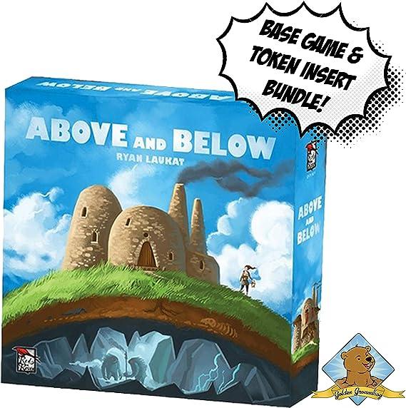 Juego de Mesa y Organizador de Golden Groundhog de Arriba y Abajo: Amazon.es: Juguetes y juegos