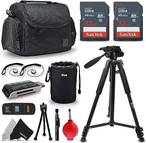 Premium de accesorios/kit para Canon EOS Rebel T6s T6 t7i T7 T6i ...