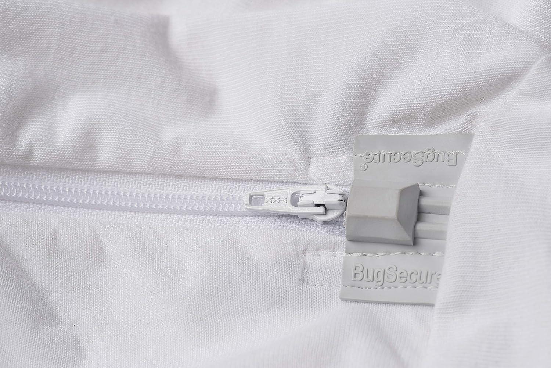 Bsensible Funa compl/ète Anti-punaises de lit Blanc 140 x 190 x 20 cm