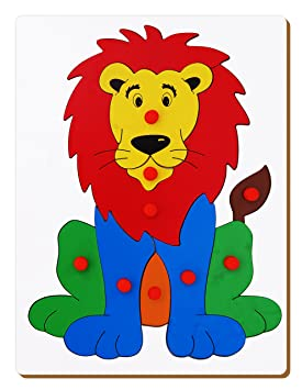 The Kiddy Depot - Wooden Tray Puzzle - Lion