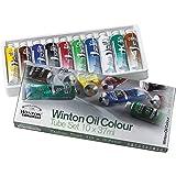 Winsor & Newton Winton - Set de 10 tubos de 37 ml de óleo