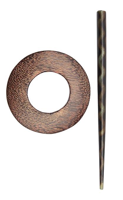 Knitpro Exotica Shawl Pin Stick Hazel Amazoncouk Kitchen Home