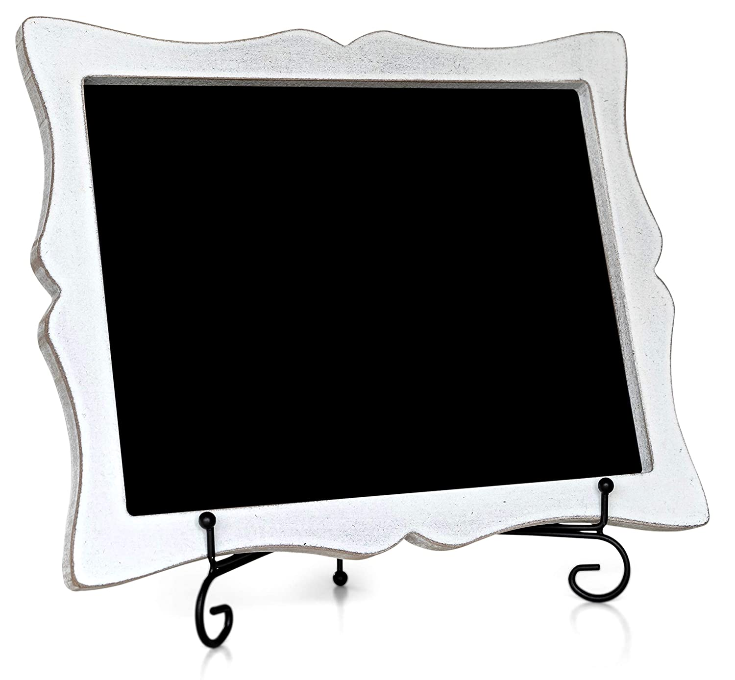 - Hand Crafted Tabletop Chalkboard with Rustic Sweetheart Frame Rustic White Hanging or Standing Small Chalkboard Oak letters Chalkboard Sign with Easel