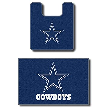 Dallas Cowboys Two Piece Bath Rug Set
