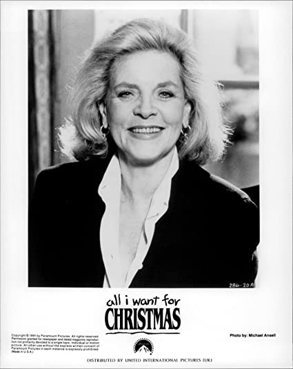 vintage photo of a cast from the film all i want for christmas - All I Want For Christmas Cast