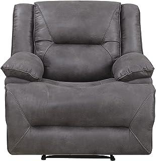 Mstar Everly Lay Flat Wall Away Recliner with Memory Foam Seat Topper  sc 1 st  Amazon.com & Amazon.com: Serta Big u0026 Tall Memory Foam Massage Recliner Grey ... islam-shia.org