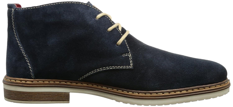 Rieker 30410-15, Desert boots Homme, Bleu (Ifik/Mogano/Rosso), 43