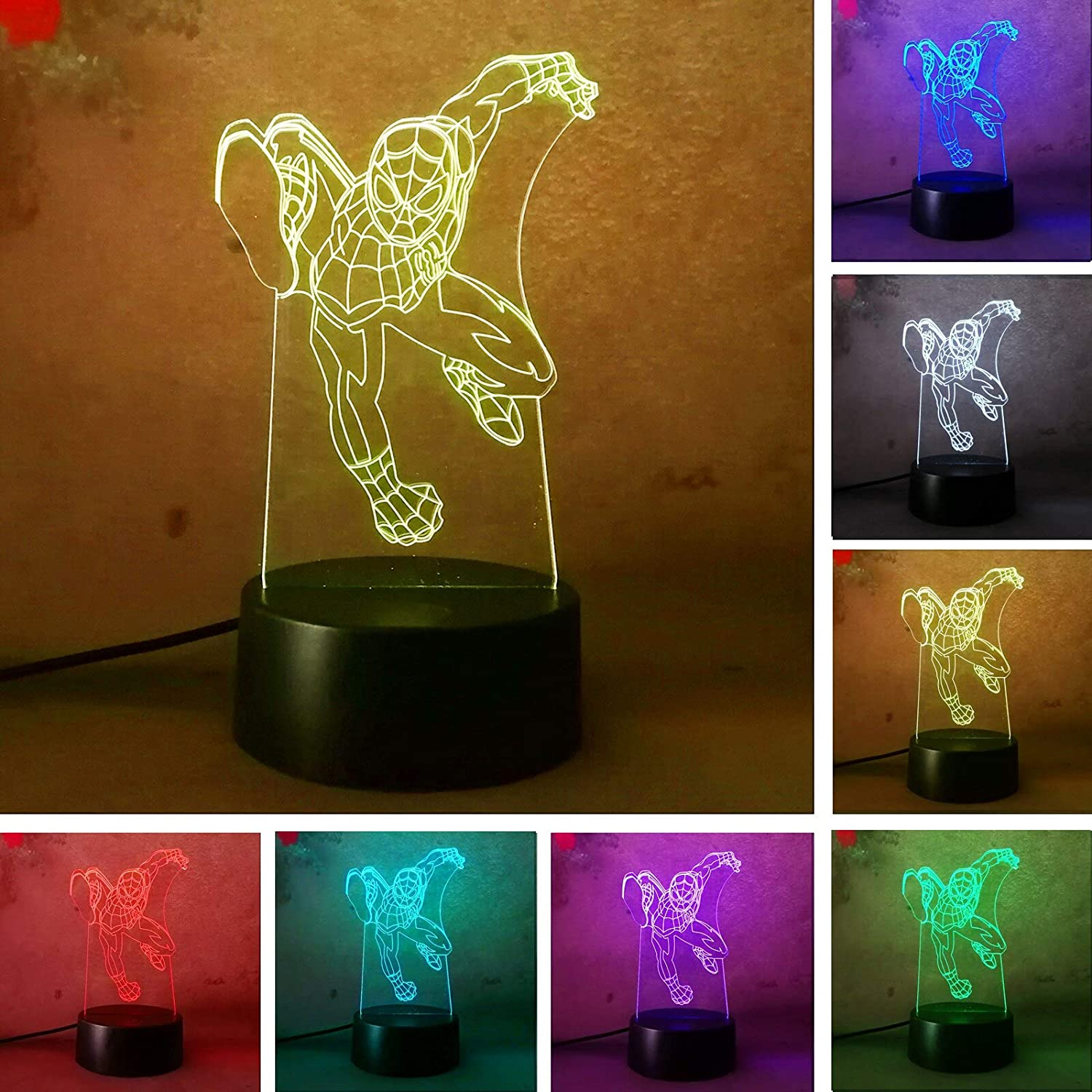 Man 3d Led Night Light Usb 7 Color Touch Senser Boy Toy Smart Table Illusion Mood Dimming Lamp Action Figure Amazon Co Uk Lighting We've done buying guides on controllers before, but we've never had one place that explained all of them until now. amazon co uk