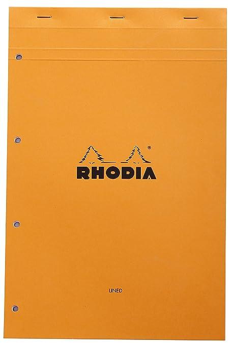 Rhodia Notizblock Doppelspirale A4 liniert