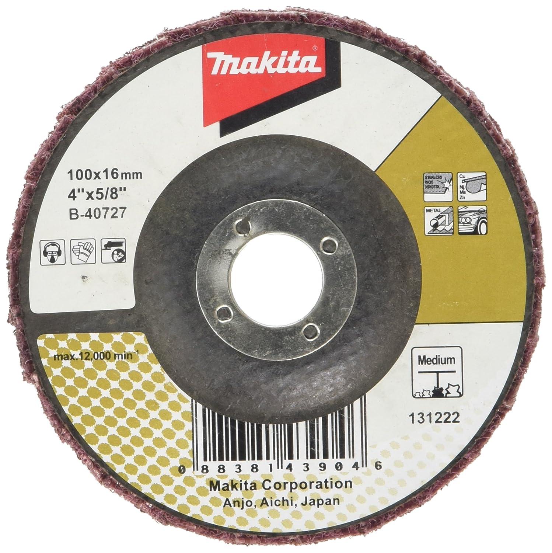 Makita B-40727 100 mm Mediumium Surf Conditioning Flap Disc - Multi-Colour