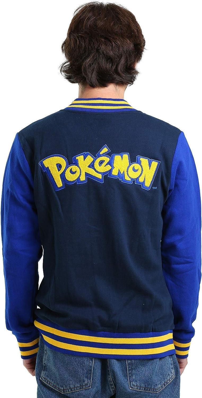 Mighty Fine Pokemon Letterman Snap Jacket