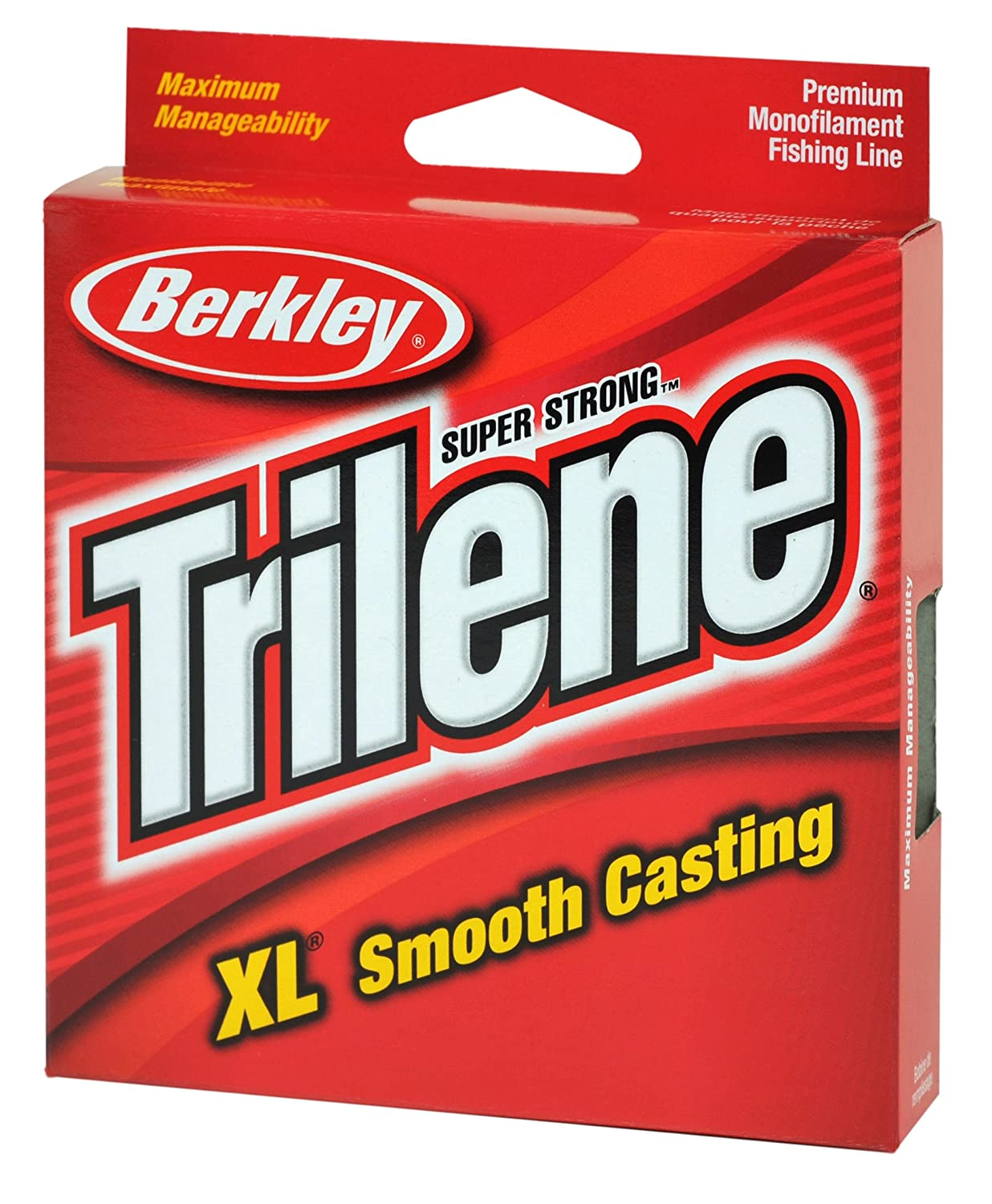 Amazon.com : Berkley Trilene XL Smooth Casting Monofilament Leader ...