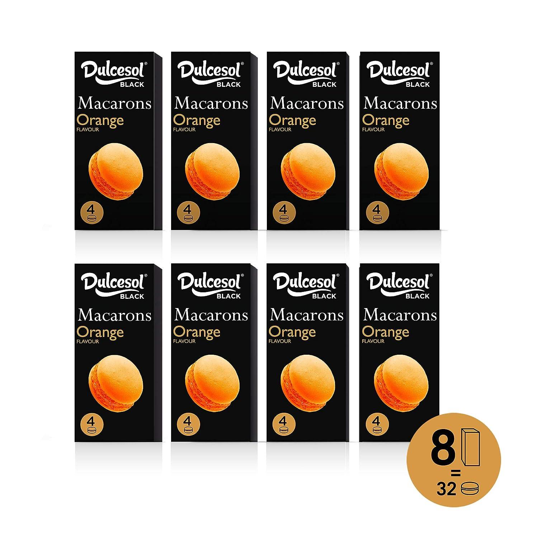 DULCESOL - Macarons sabor Naranja | 8 cajas: Amazon.es: Alimentación y bebidas