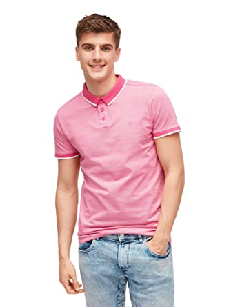 Tom Tailor Denim - Polo - Manga Corta - para Hombre: Amazon.es ...