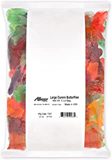 product image for Albanese Confectionery Large Gummi Butterflies, 5 Pound Bag