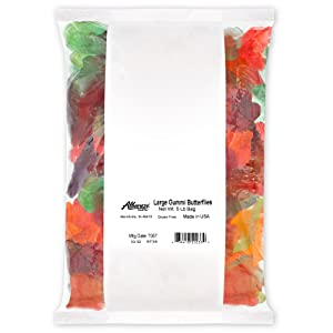 Albanese Confectionery Large Gummi Butterflies, 5 Pound Bag