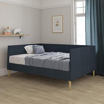 Amazon.com: DHP Franklin Mid Century - Sofá cama tapizado ...