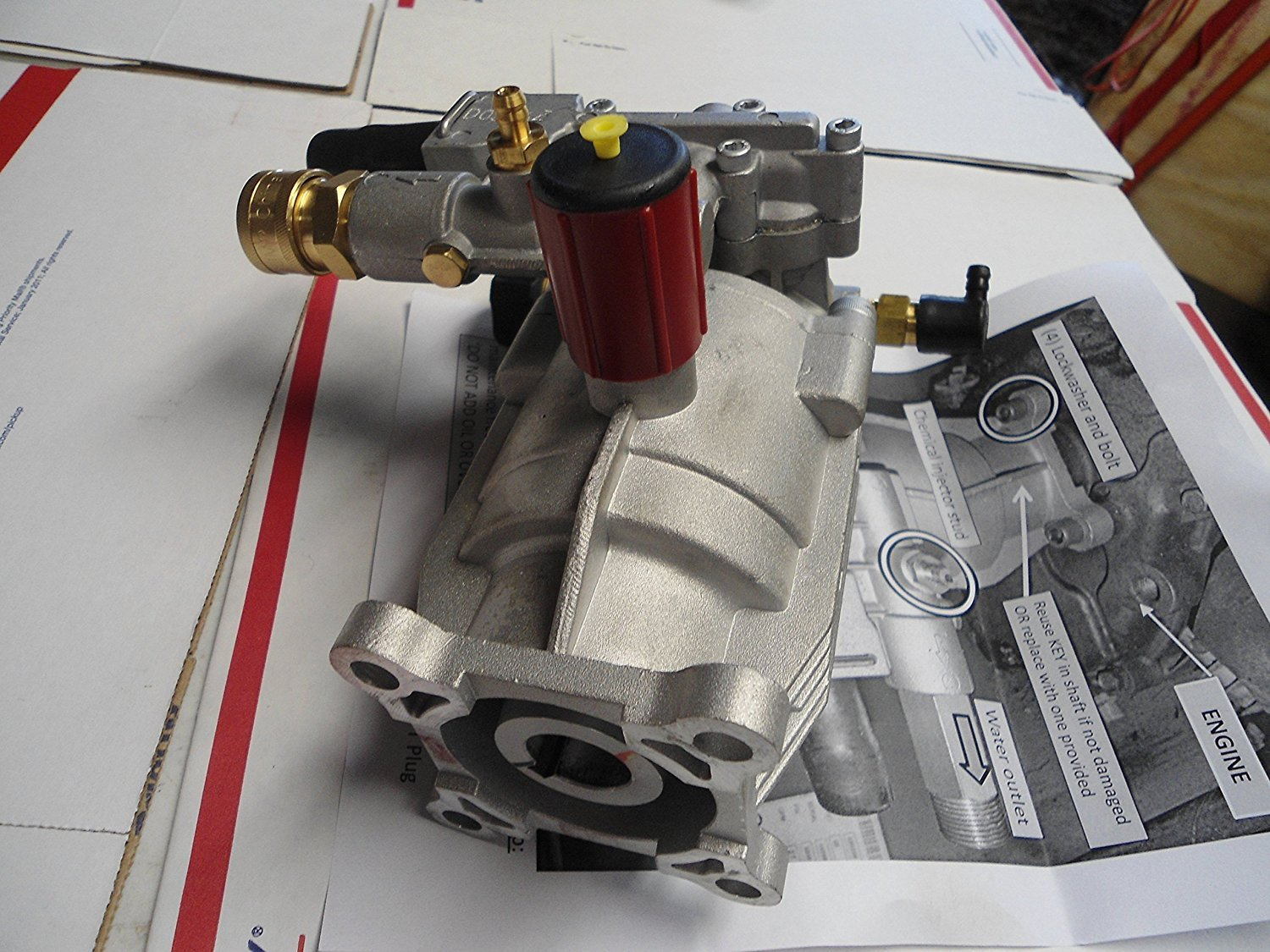 New PRESSURE WASHER PUMP fits Honda Excell XR2500 XR2600 XC2600 EXHA2425 XR2625 by APW Distributing