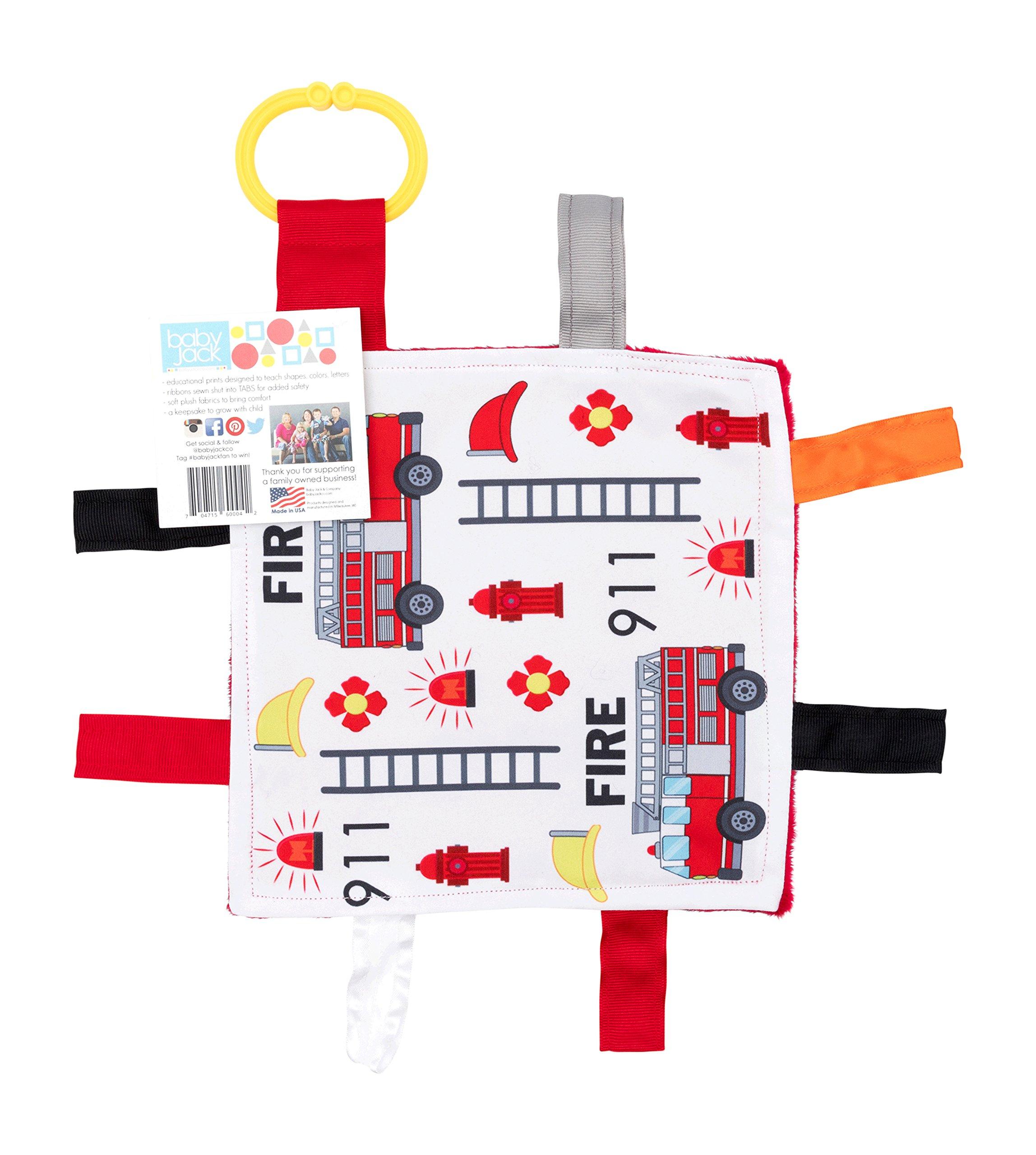 Amazon.com : Bumkins Pacifier Clip 2 Pack, Boy (B60-Firetruck/Gray ...