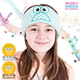 Snuggly Rascals (v2) Kids Headband Headphones - Ultra-Comfortable, Volume Limited and Size Adjustable. (Cotton, Owl)