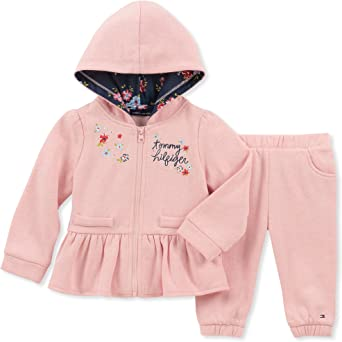 : Tommy Hilfiger Baby Girls 2 Pieces Jacket Jog