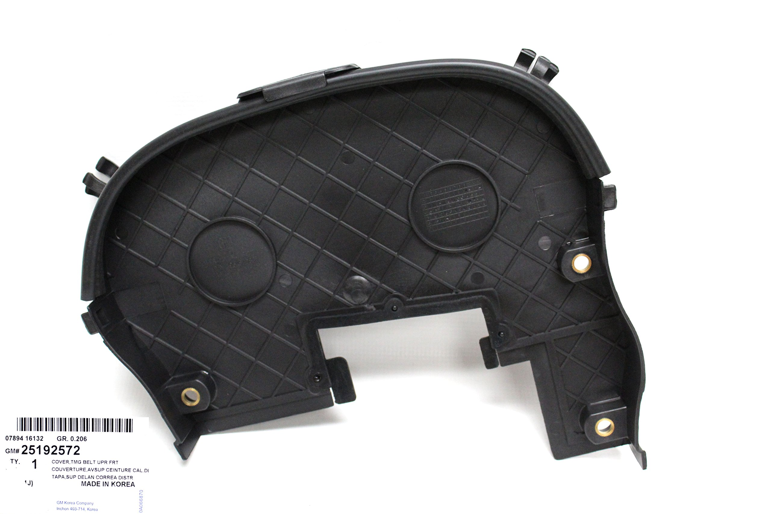 Timing Belt Superior Cover for Chevy Chevrolet Aveo Part: 25192572
