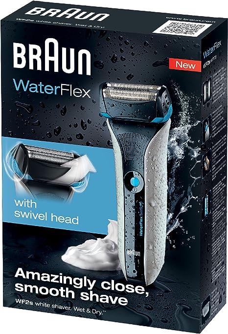 Braun Waterflex White - Afeitadora de láminas: Amazon.es: Salud y cuidado personal