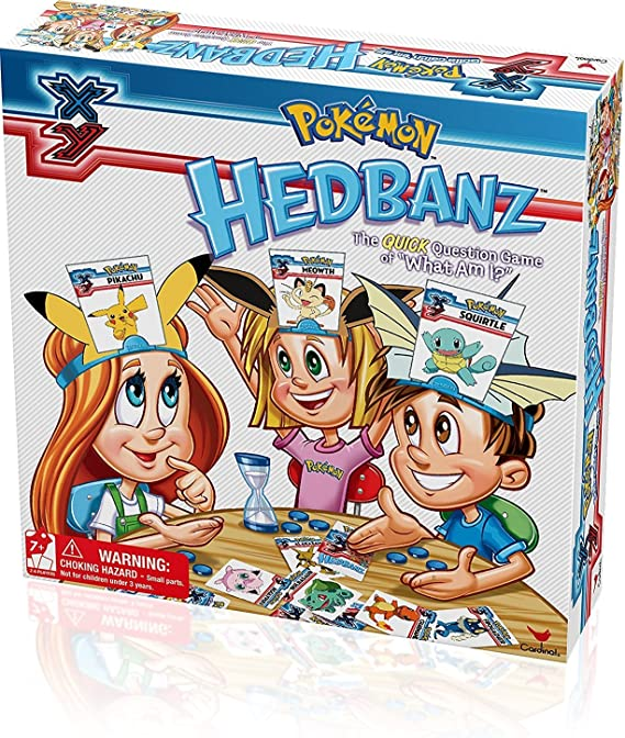 Pokèmon Toy - Hedbanz Family Game - Quick Question Game - What Am I - Pikachu Snorlax Squirtle: Amazon.es: Juguetes y juegos