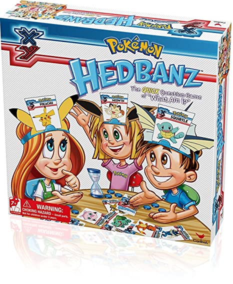 Pokemon Hedbanz Game by Cardinal