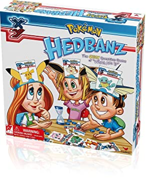 Pokemon Toy - Hedbanz Family Game - Quick Question Game - What Am I -  Pikachu Snorlax Squirtle