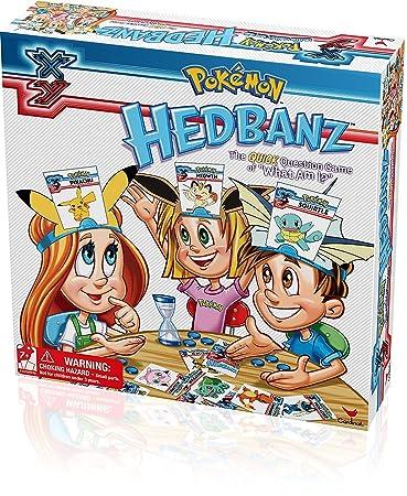 Amazon Cardinal Pokemon Hedbanz Game Toys Games