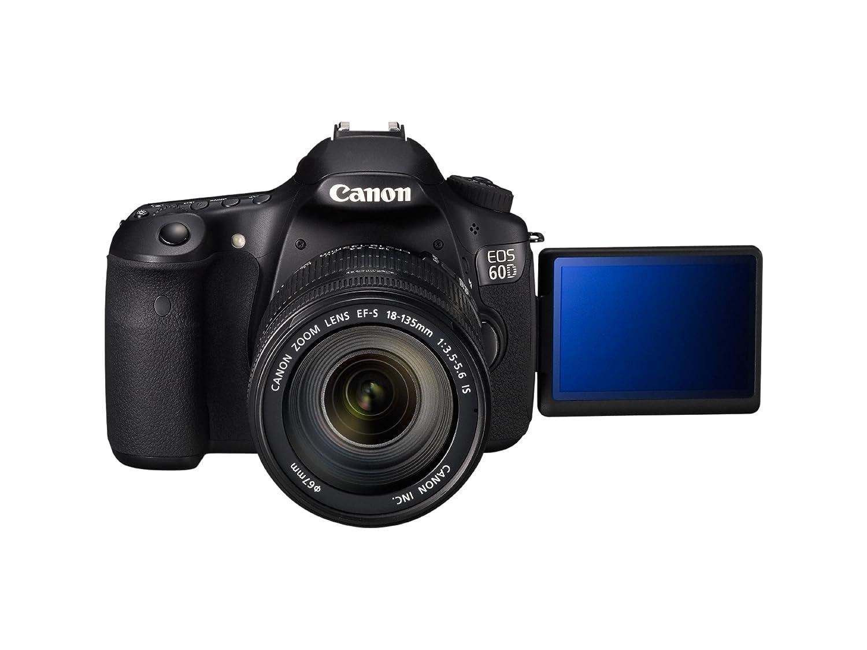 Canon EOS 60D - Cámara Réflex Digital 18 MP (Objetivo EF-S 18-135mm ...