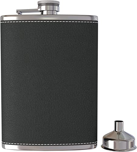 Corablade Pocket Hip Flask 8 Oz with Funnel