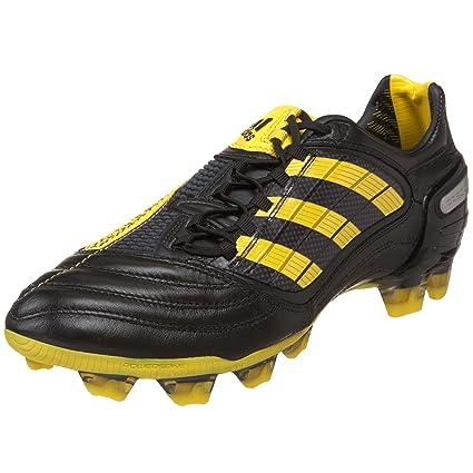 530a467f2 adidas Men's Predator_X Fg Soccer Shoe,Black/Sun/Metallic Silver (WC)