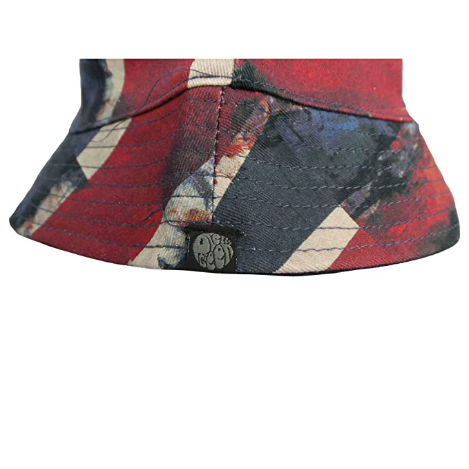 5f2e1e722 Pretty Green Reversible Bucket Hat Navy/Union Jack