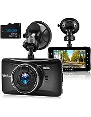 "OldShark Dash Cam, 3"" 1080P HD Car Recorder 170 Wide Angle Night Vison Dashboard Camera with G-Sensor, Loop Recording, WDR, Parking Guard"
