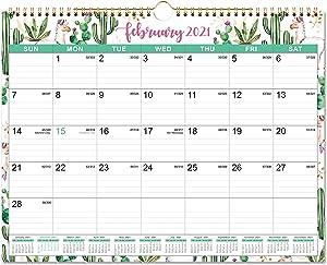 2021-2022 Wall Calendar - 18 Months Hanging Wall Calendar 2021-2022, 14.75