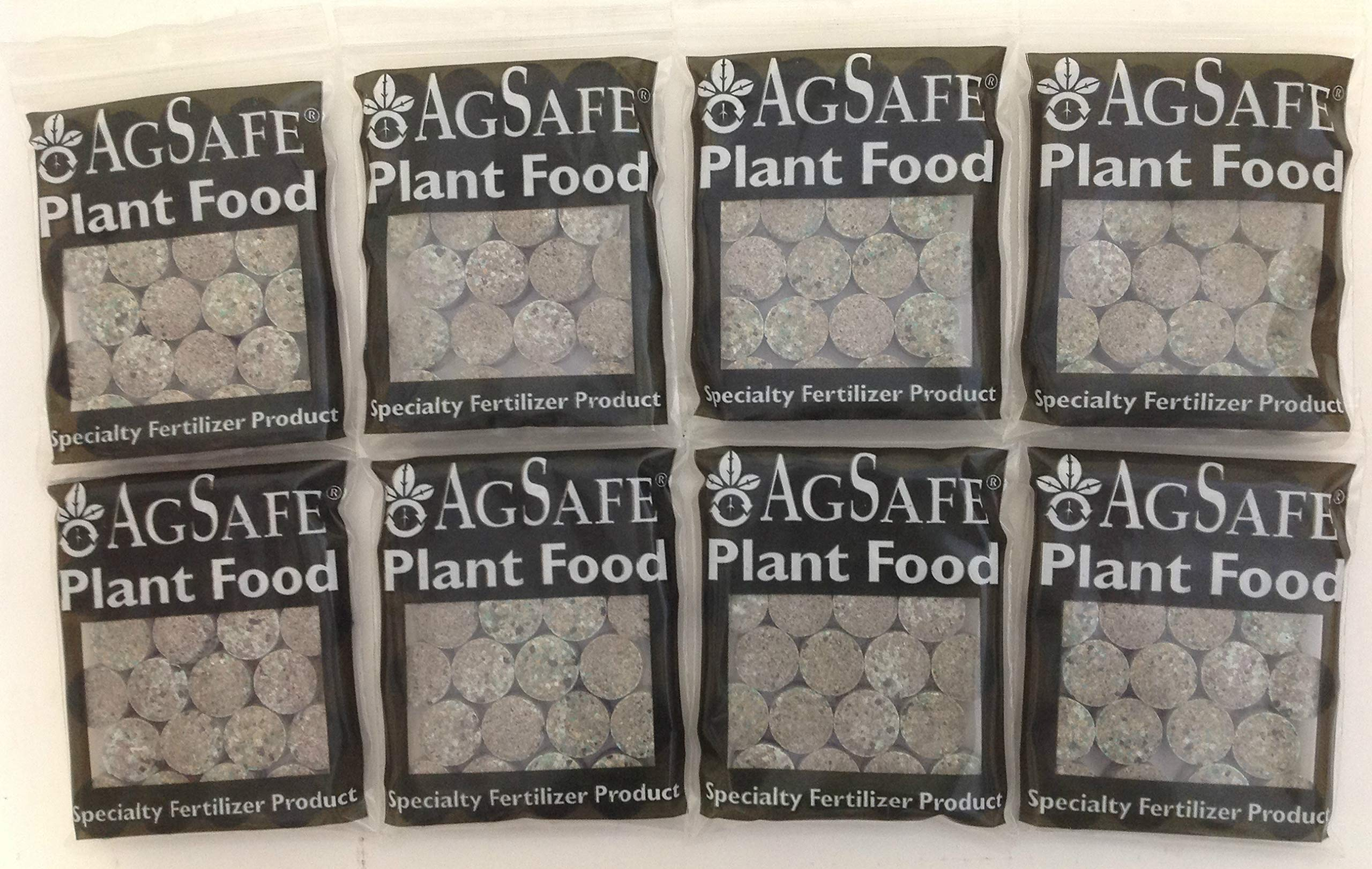 Custom Pro AgSafe Aquatic Fertilizer Tablets for Pond & Water Garden Plants Promote Plant Health, Flowering and Growth (8 Pack/192 Tablets)