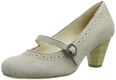 Barato Latest Eastbay en línea Zapatos beige Hirschkogel para mujer T2qgwK