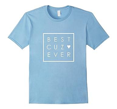 Amazon Best Cuz Ever Tshirt Cousin Love Minimalist Square Box Beauteous Cousinlove