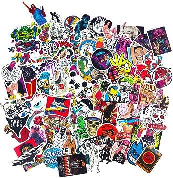 100 pieces sticker Stickers Motor Graffiti Skate Skateboard Laptop Luggage Decal