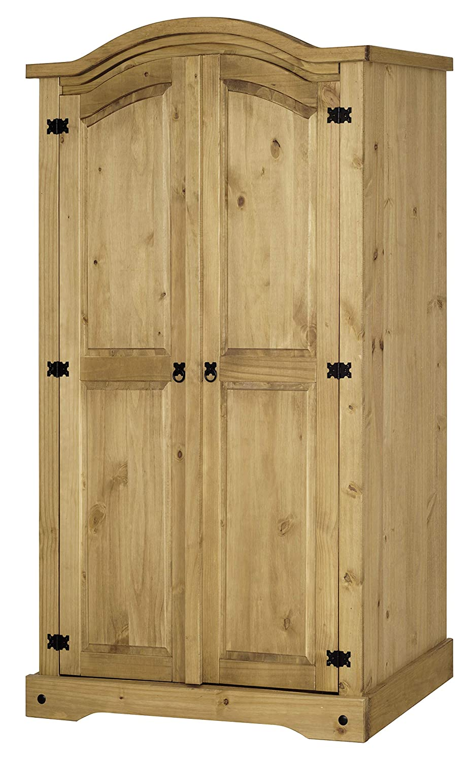 Corona Mexican 2 Door Wardrobe in Solid Pine P301-CR