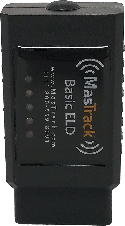 MasTrack Basic ELD eLog Starter Kit Includes 6 Months of ELD Service