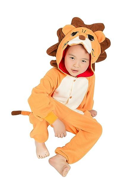 BELIFECOS Childrens Lion Costumes Animal Onesies Kids Homewear Pajamas 85  sc 1 st  Amazon.com & Amazon.com: BELIFECOS Childrens Lion Costumes Animal Onesies Kids ...
