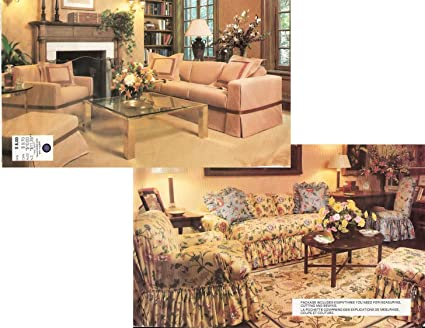 Oop Vogue Home Decor Pattern 1711 Sofa Chair Ottoman Parsons