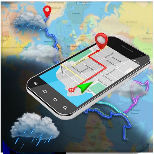 Navegación GPS - Mapa de la Tierra en vivo Vista por satélite: Amazon.es: Appstore para Android